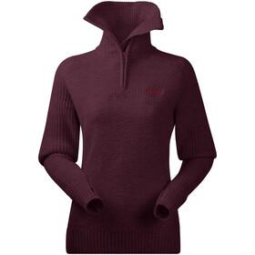 Bergans Ulriken Suéter Mujer, rojo